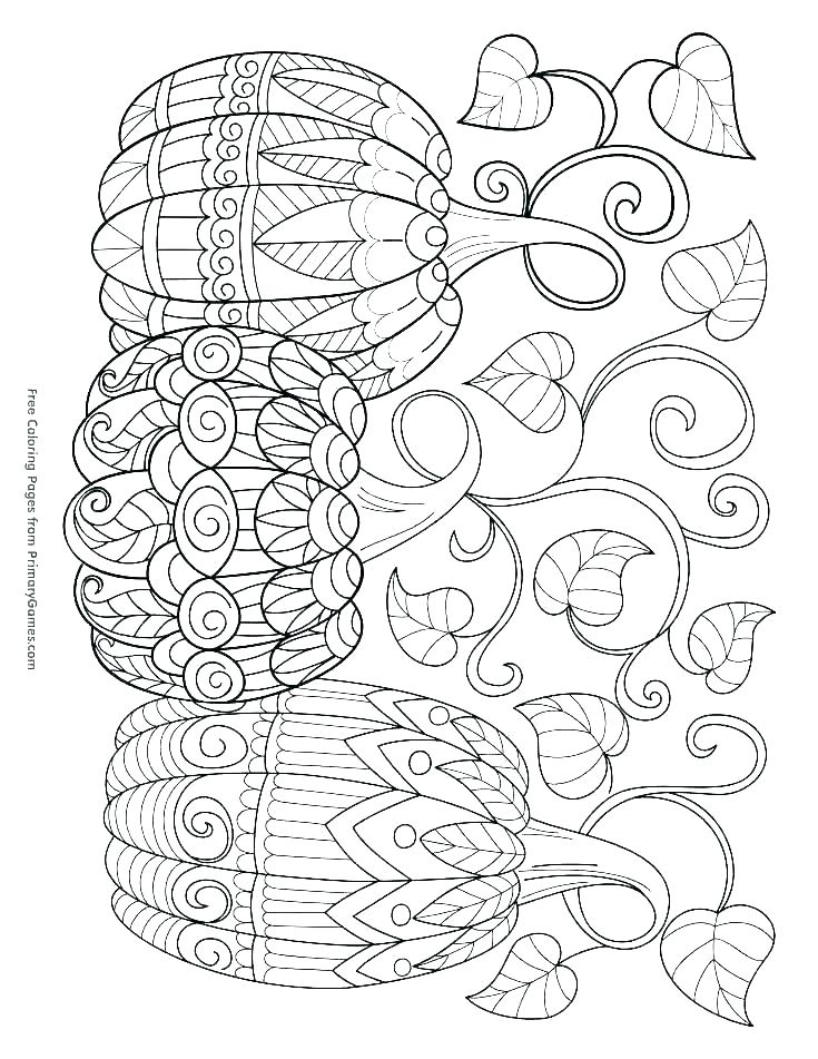 735x951 Free Fall Coloring Pages Printable