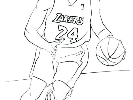 440x330 Lebron Coloring Pages Bsketbll Bsketbll Lebron Coloring Sheet