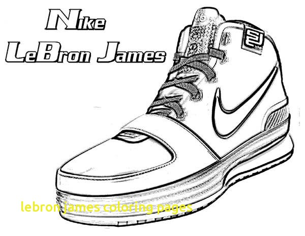 600x464 Lebron James Coloring Pages With Lebron James Coloring Page More