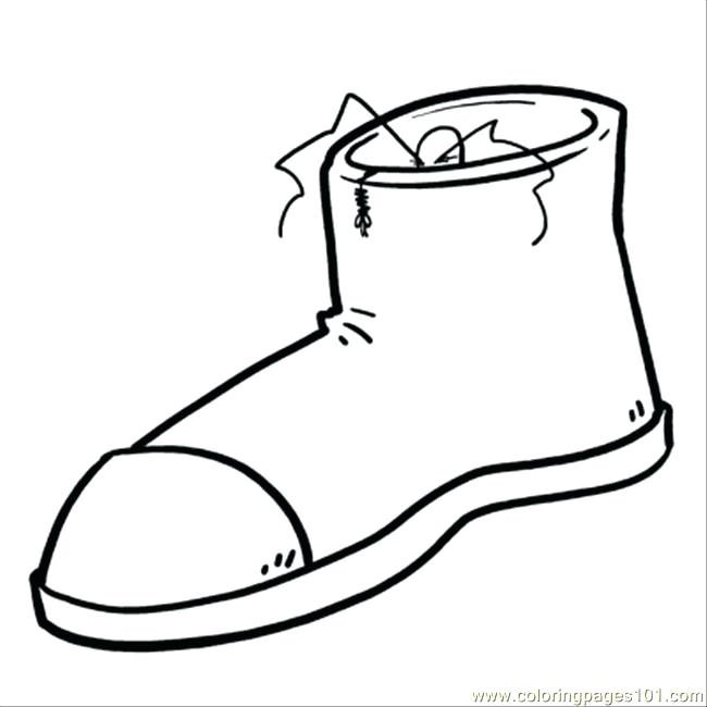 650x650 Shoes Coloring Page Shoe Coloring Click To See Printable Version