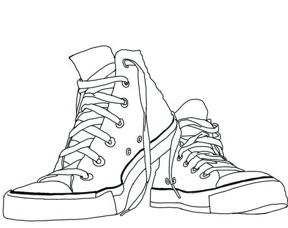 564x446 Shoes Coloring Page Shoes Coloring Page Lebron James Shoes