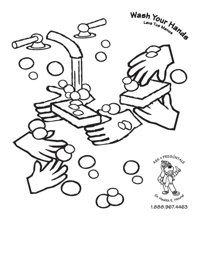 660x854 Hand Coloring Pages