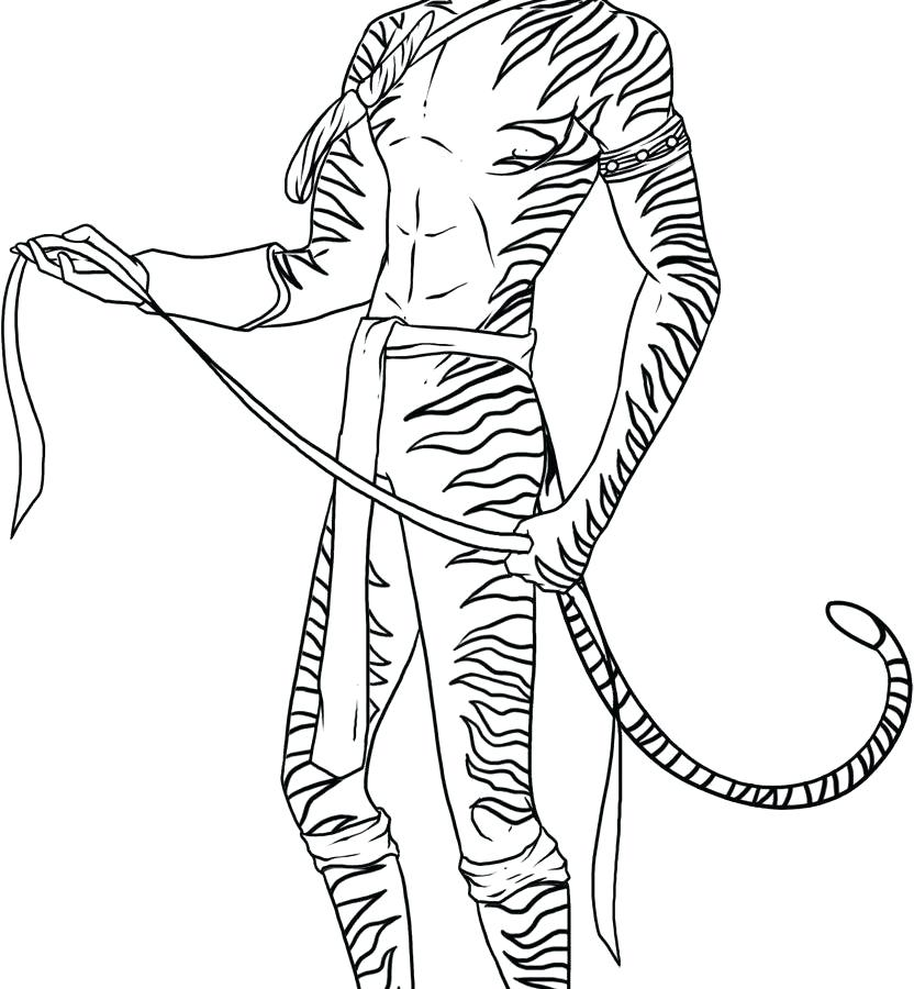 832x900 Avatar Powered Coloring Page Pages Of General Characters Free