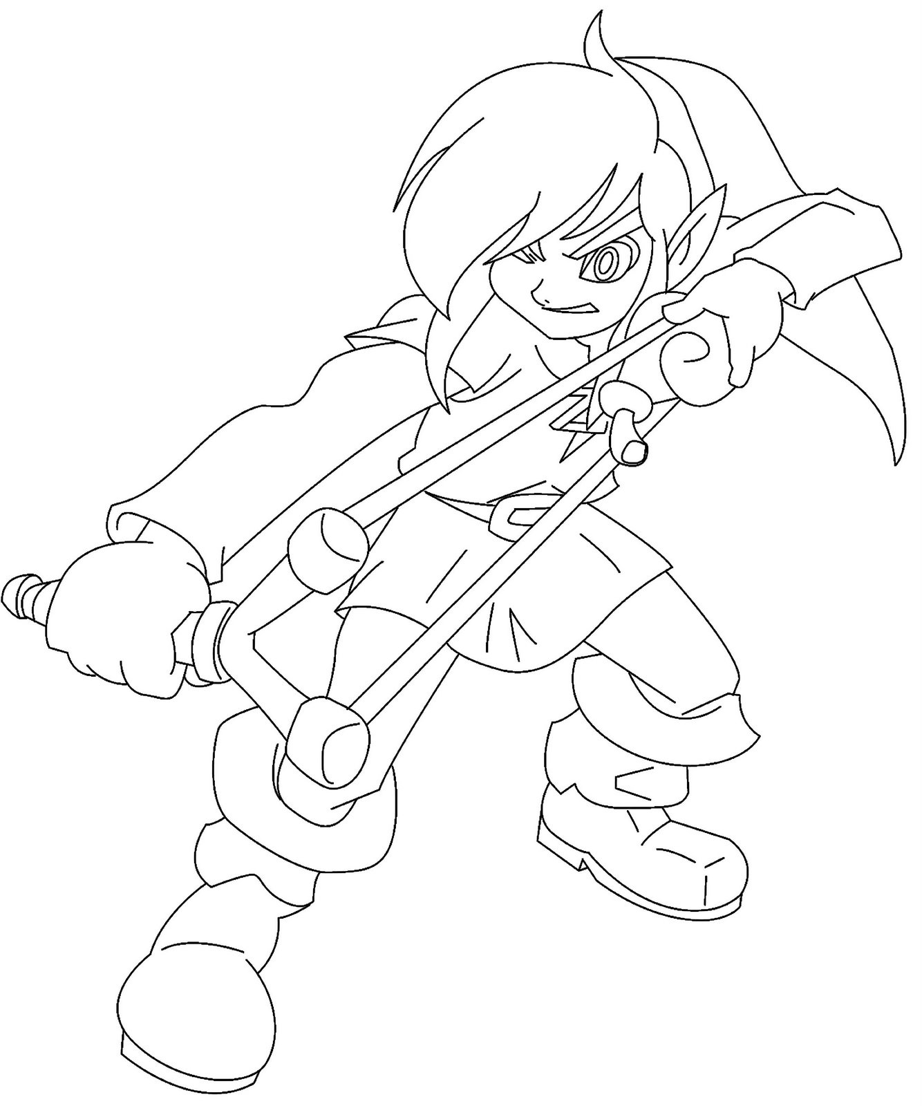 Majoras wrath coloring pages ~ Legend Of Zelda Link Coloring Pages at GetDrawings.com ...