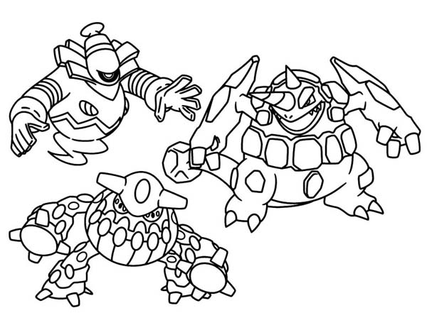 Legendary Pokemon Coloring Pages Printable At Getdrawingscom Free
