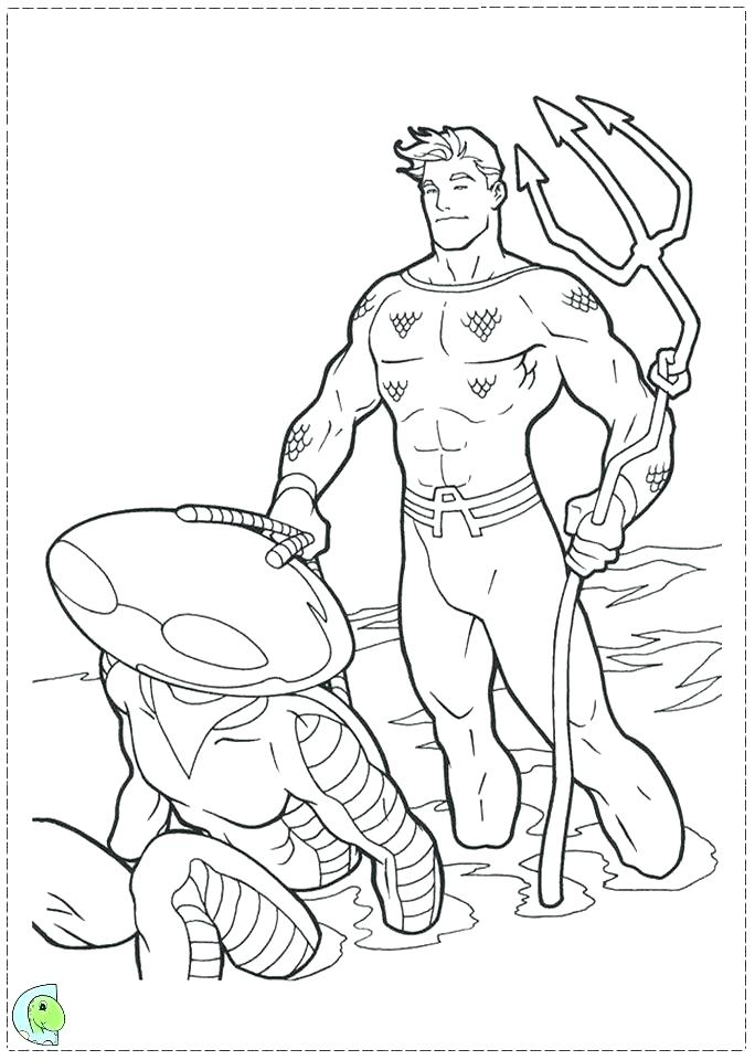 Lego Aquaman Coloring Pages at GetDrawings   Free download