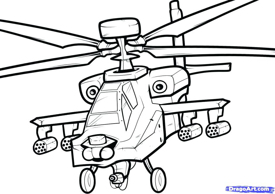 940x664 Helicopter Coloring Page Army Coloring Page Free Coloring Pages
