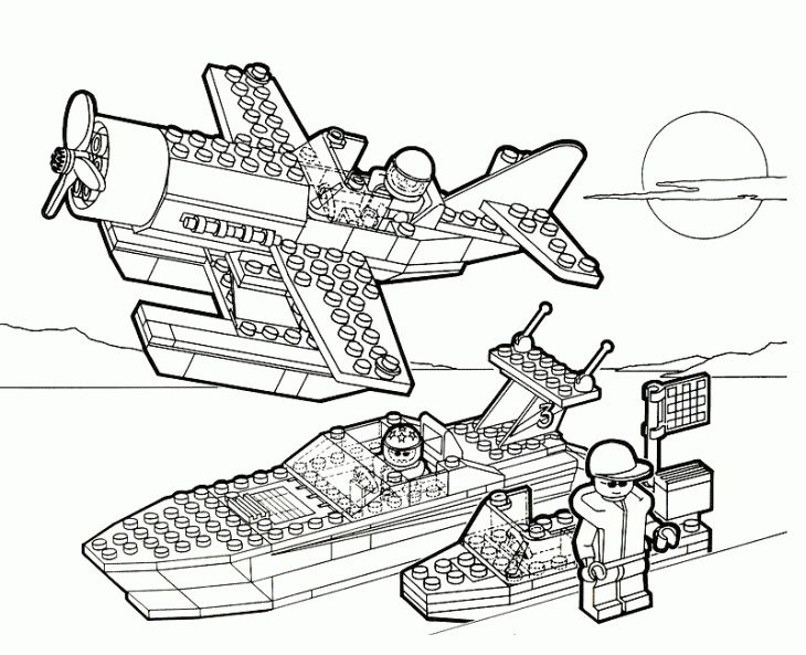 730x593 Lego Military Forces Coloring Page To Print Online Fun Coloring