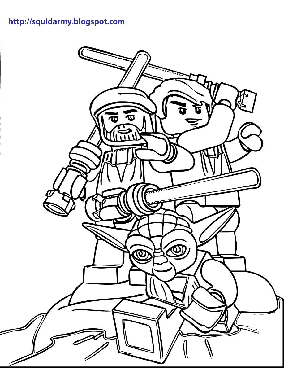 918x1188 Lego Star Wars Coloring Pages Squid Army Stunning Legos Acpra