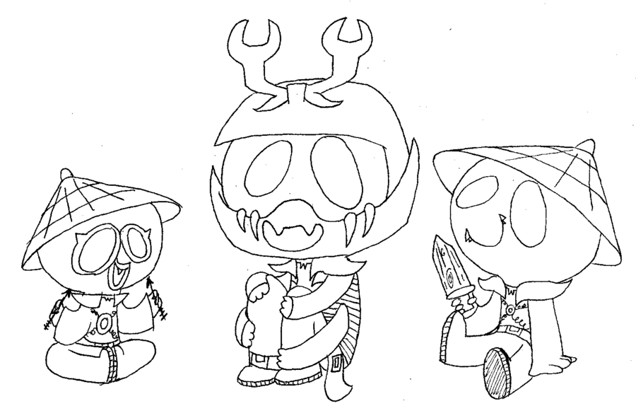 900x574 Lil Stone Army Coloring Page