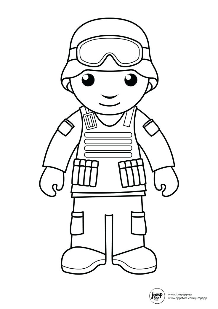 736x1041 Soldier With A Weapon Coloring Pages Picture Military Army Roman