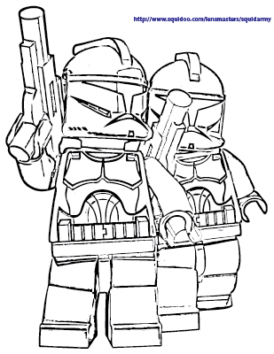 309x400 Lego Star Wars Coloring Pages