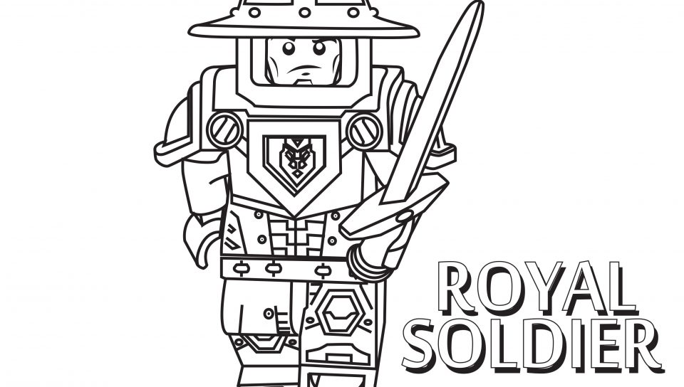 960x544 Coloring Page Norman Soldier To Download And Print Best Printable
