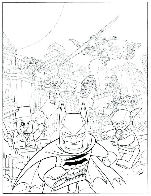 Lego Batman 3 Coloring Pages At Getdrawings Free Download