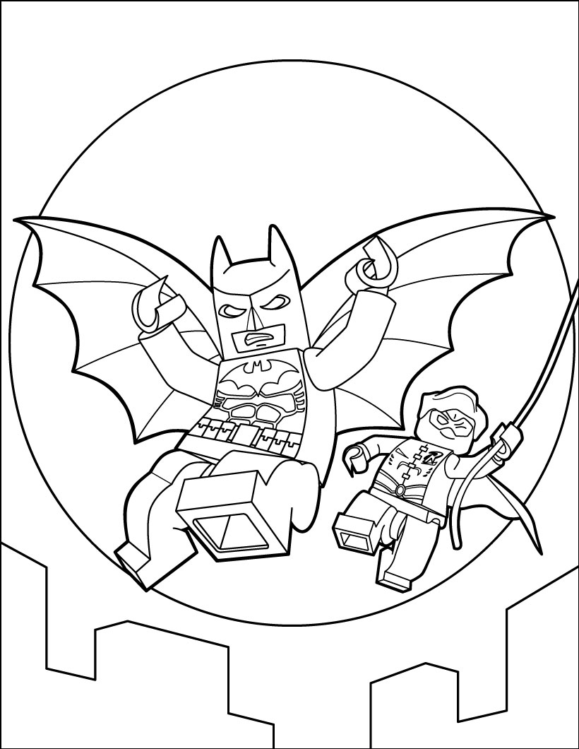 820x1060 Fresh Lego Batman Coloring Pages For Gallery Coloring Ideas