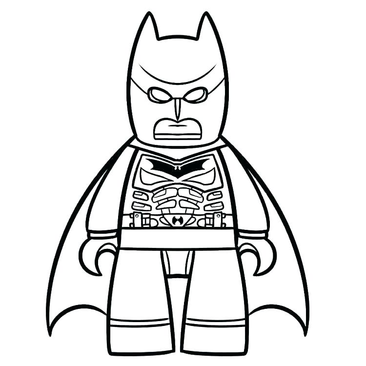 750x750 Lego Robin Coloring Pages