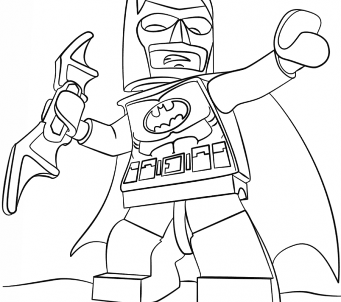 Lego Batman Coloring Pages At Getdrawings Com Free For Personal