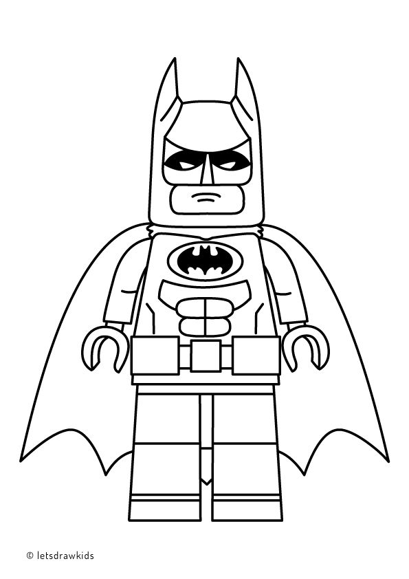 Lego Batman Movie Coloring Pages