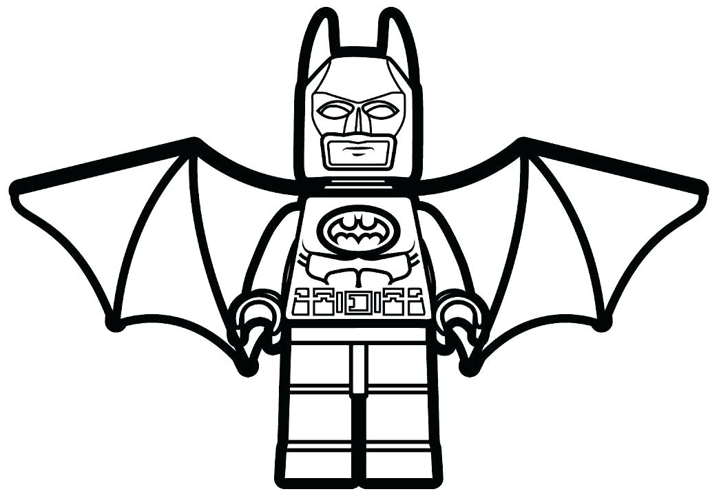 1044x720 Lego Batman Printable Coloring Pages Page Free Best