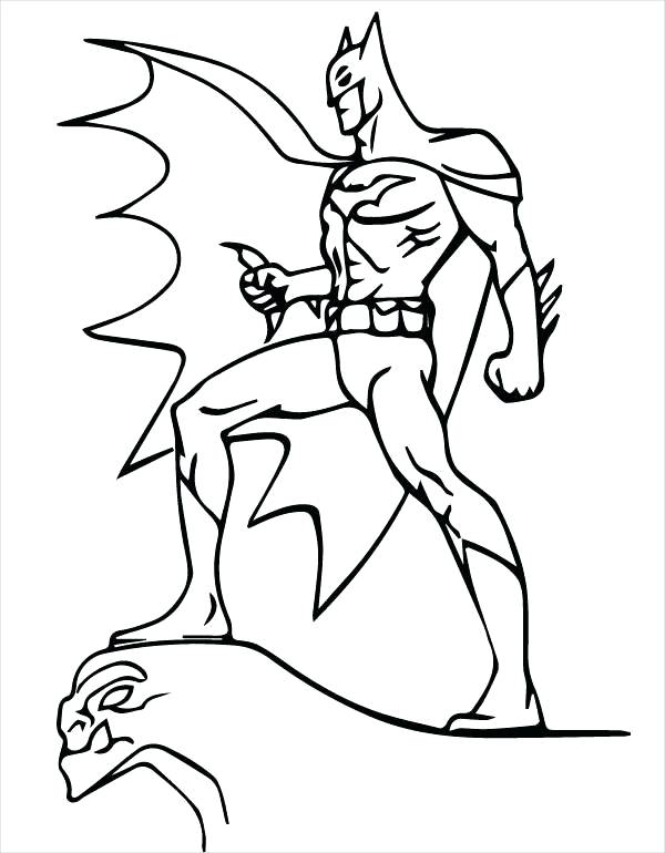 600x770 Printable Batman Coloring Pages Batman Cartoon Coloring Page Lego