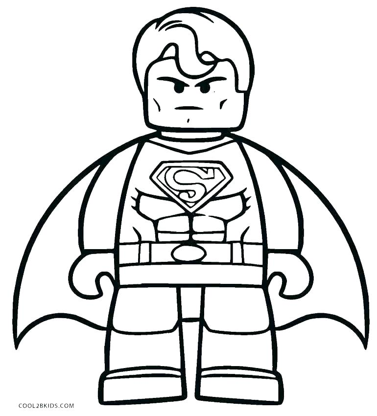 770x850 Batman Printable Coloring Pages Batman And Superman Coloring Pages