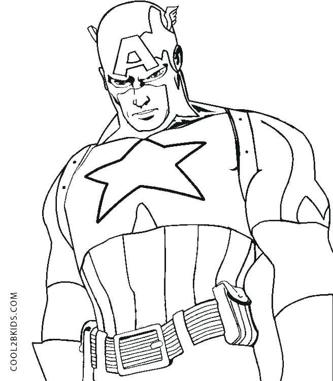 Lego Captain America Coloring Pages At Getdrawings Com Free For
