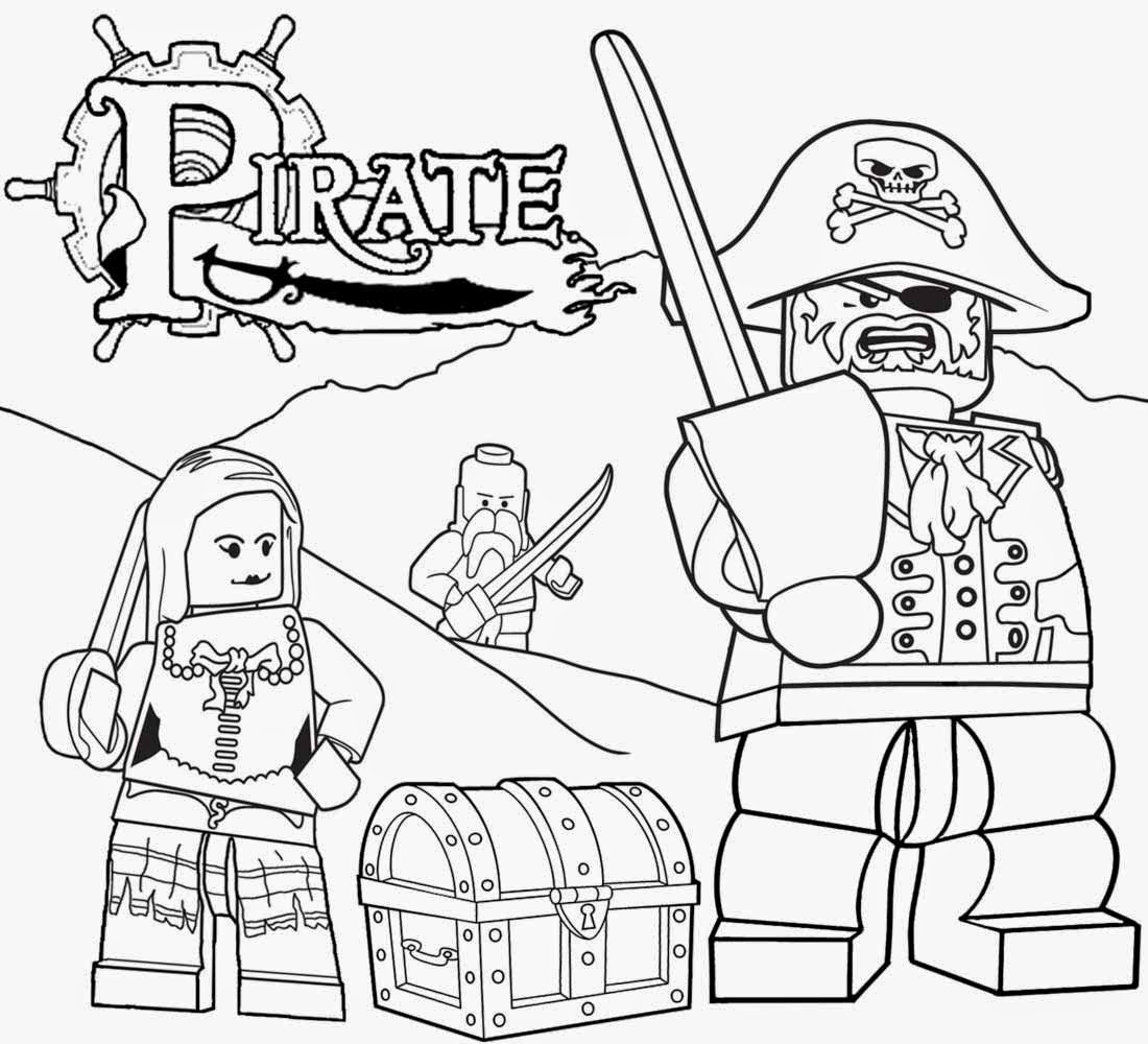 Lego Castle Coloring Pages