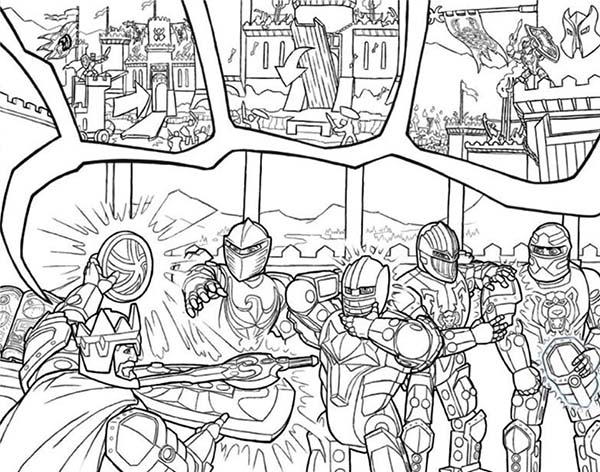Lego Castle Coloring Pages at GetDrawings.com   Free for personal ...