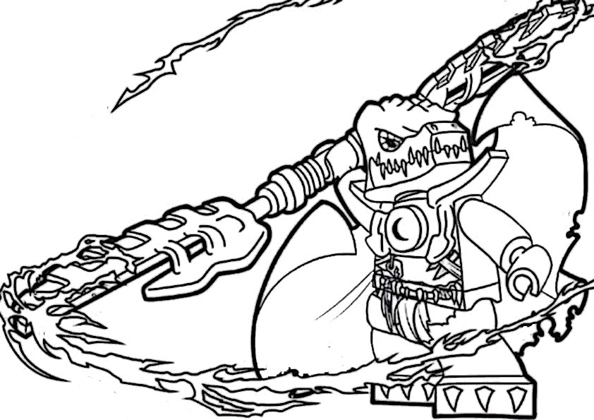 The best free Chima coloring page images. Download from 120 ...