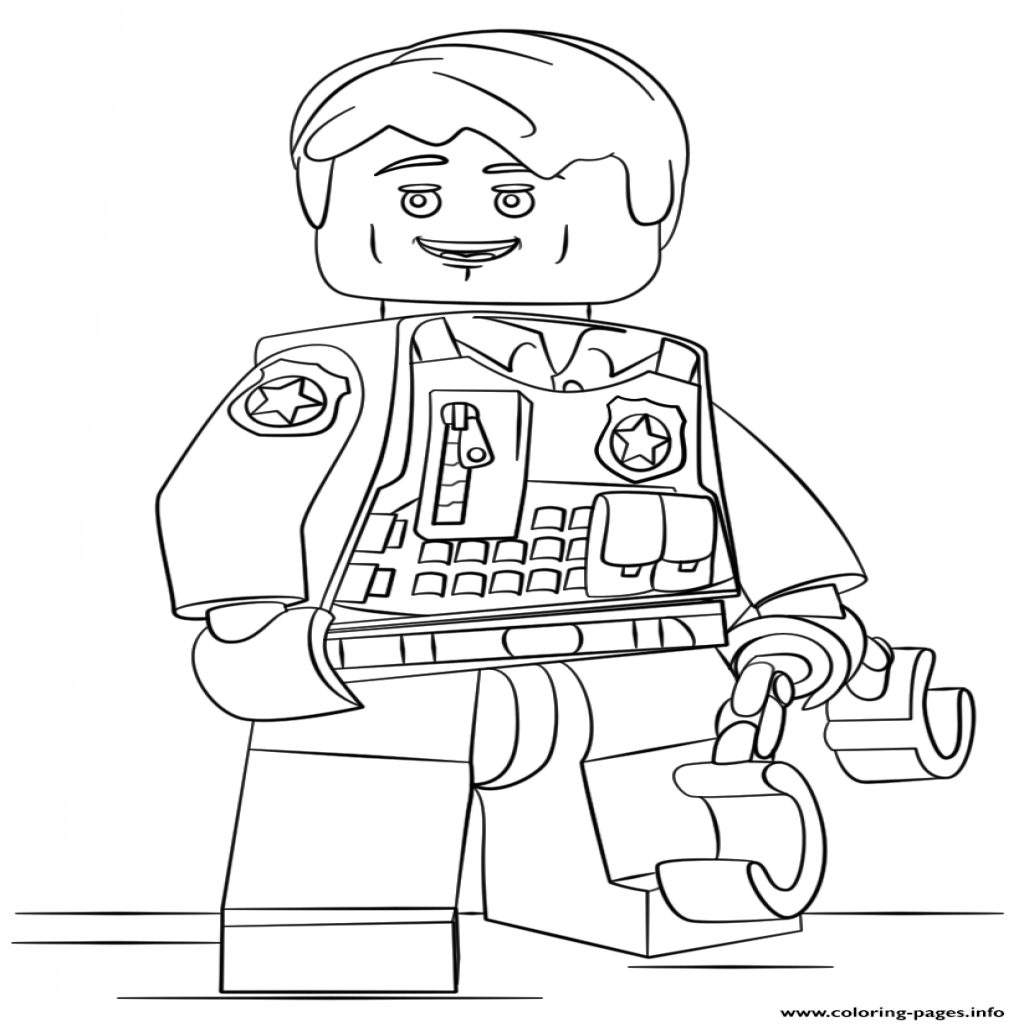 Kleurplaten Van Lego City.Lego City Undercover Coloring Pages At Getdrawings Com Free For