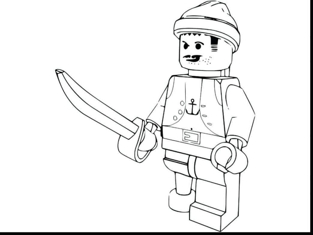 1043x782 Printable Lego City Coloring Pages Undercover Colouring Prison