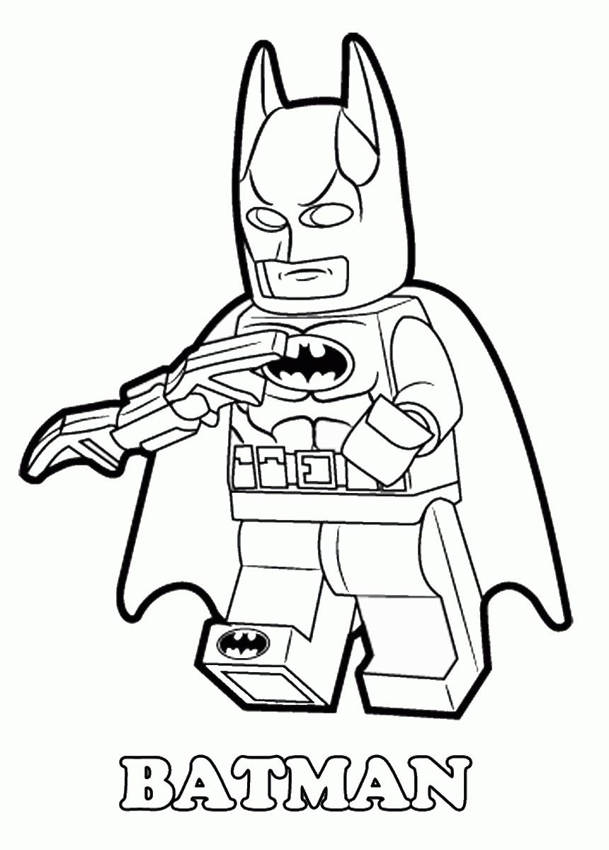 860x1200 Lego Batman Movie Coloring Pages