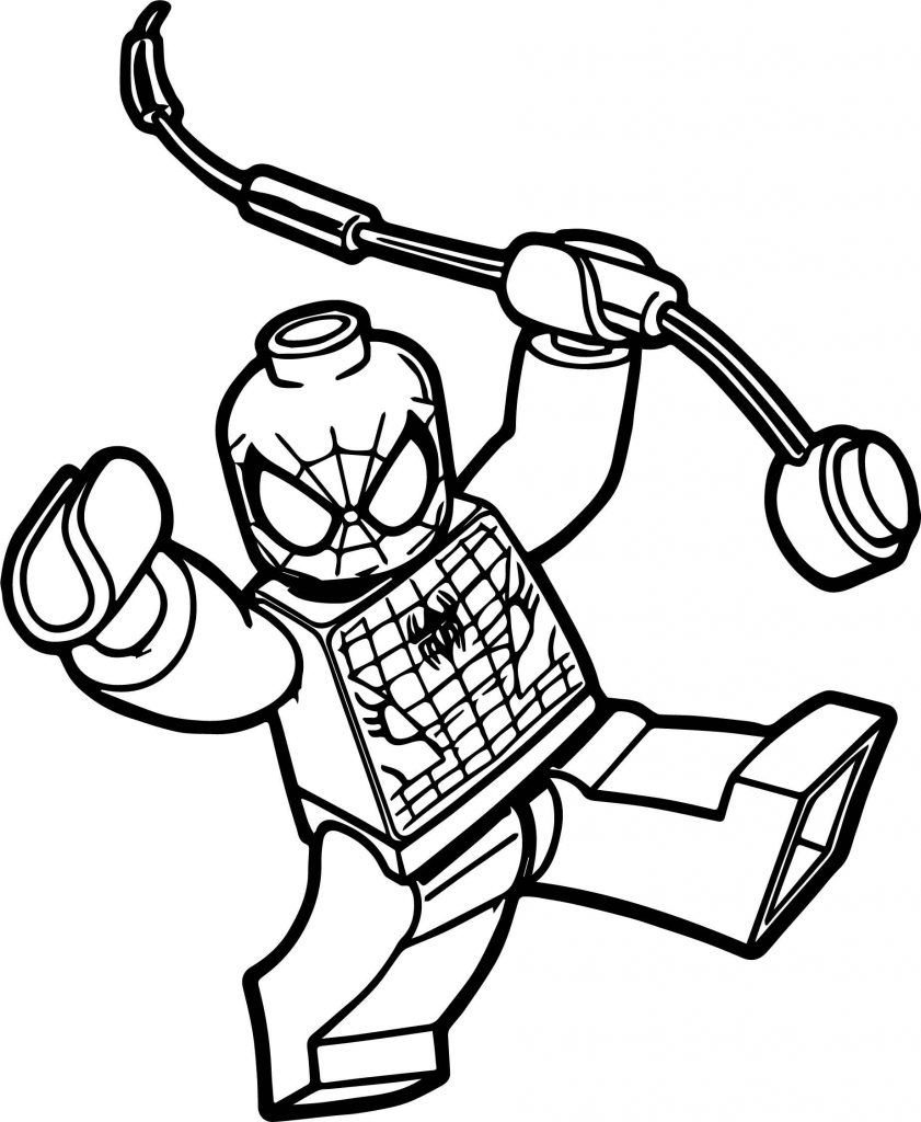 841x1024 Superhero Spider Man Web Warriors Coloring Pages Free Printable