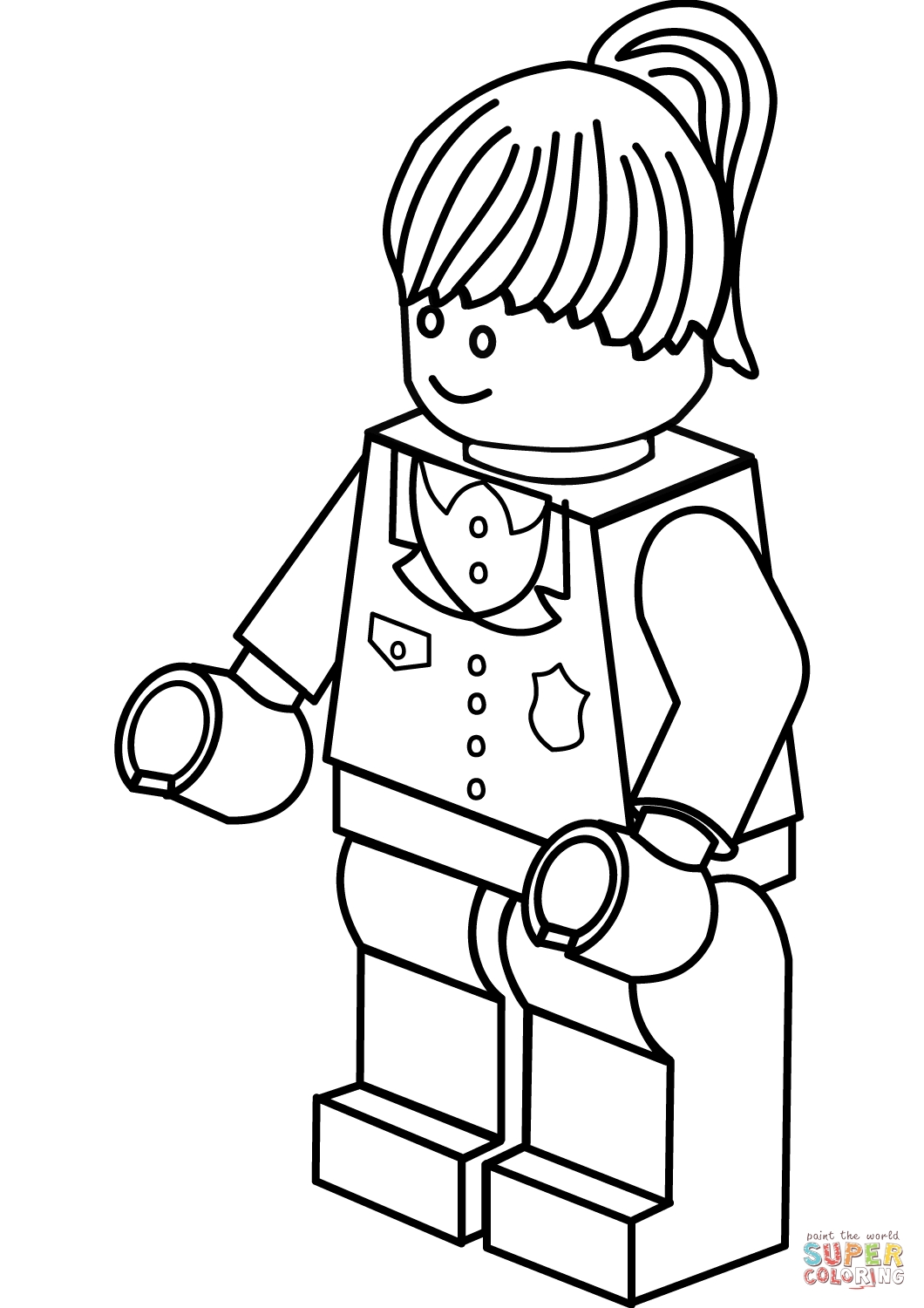 Lego Coloring Pages For Girls At Getdrawings Free Download