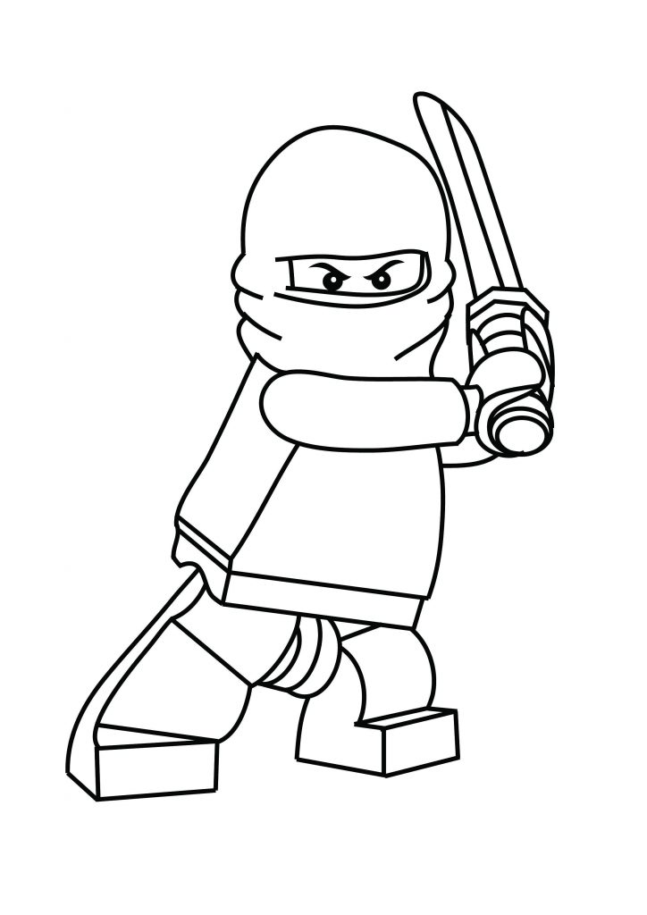 724x1024 Lego Coloring Pages Printable