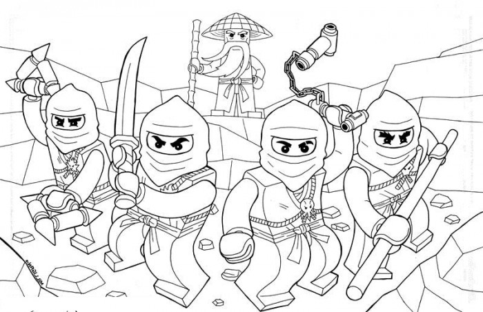 700x452 Pretentious Design Ideas Lego Ninjago Coloring Pages Printable