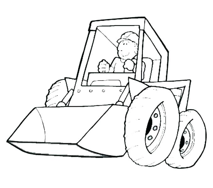 678x600 Construction Vehicles Coloring Pages Construction Vehicles Free