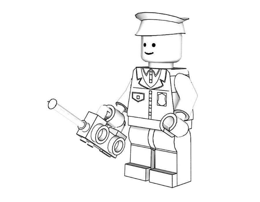 900x700 Lego Coloring Pages