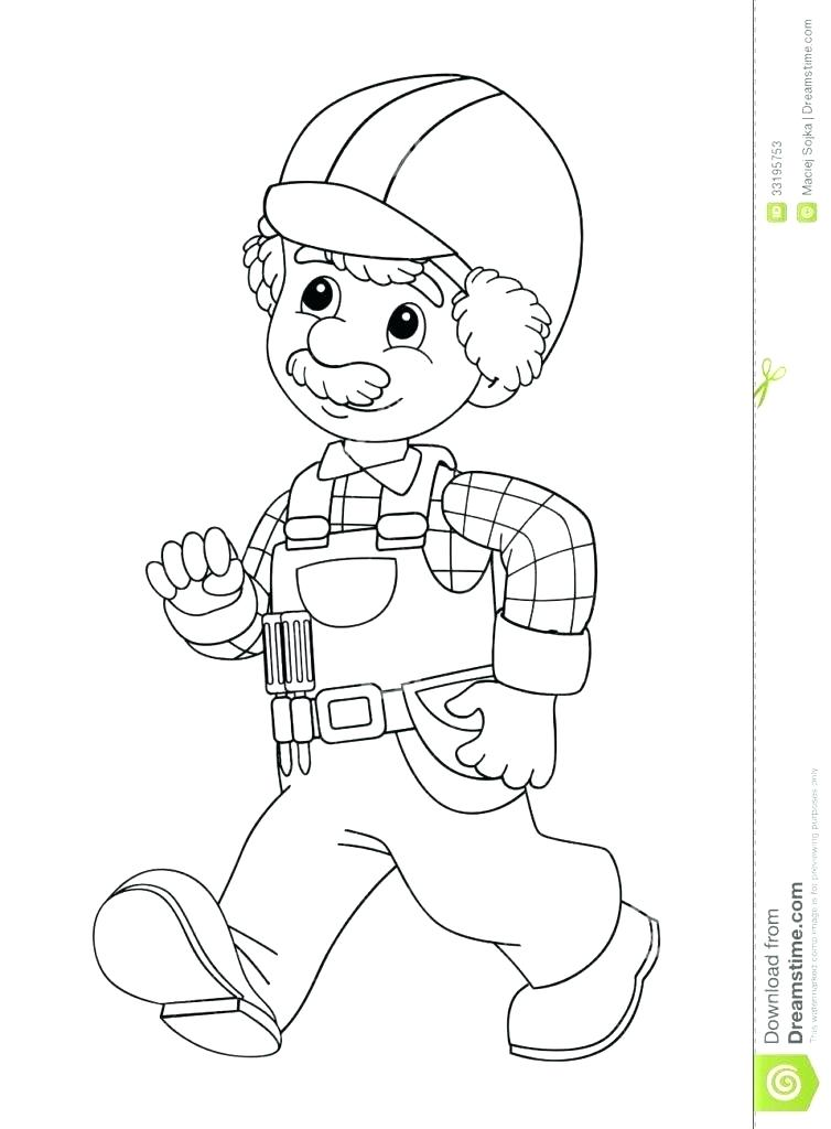 754x1024 Construction Coloring Construction Coloring Page Construction