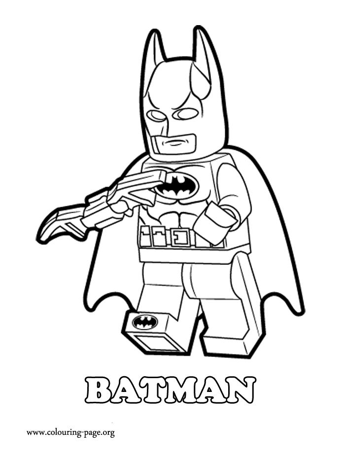 700x918 Lego Batman Coloring Pages