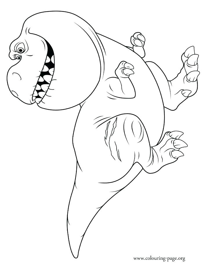 700x918 Trex Coloring Page Coloring Page Cartoon Of T Coloring Page T