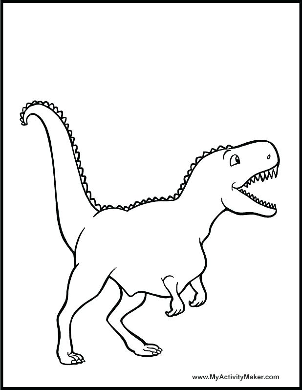 618x798 Trex Coloring Pages Coloring Pages Template For Mosaic T Dinosaur
