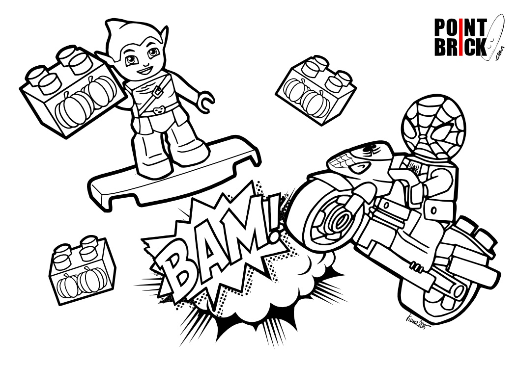 Lego Duplo Coloring Pages At Getdrawingscom Free For Personal Use