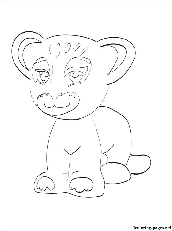 560x750 Lego Minifigures Coloring Pages Tiger Friends Printable Page Lego