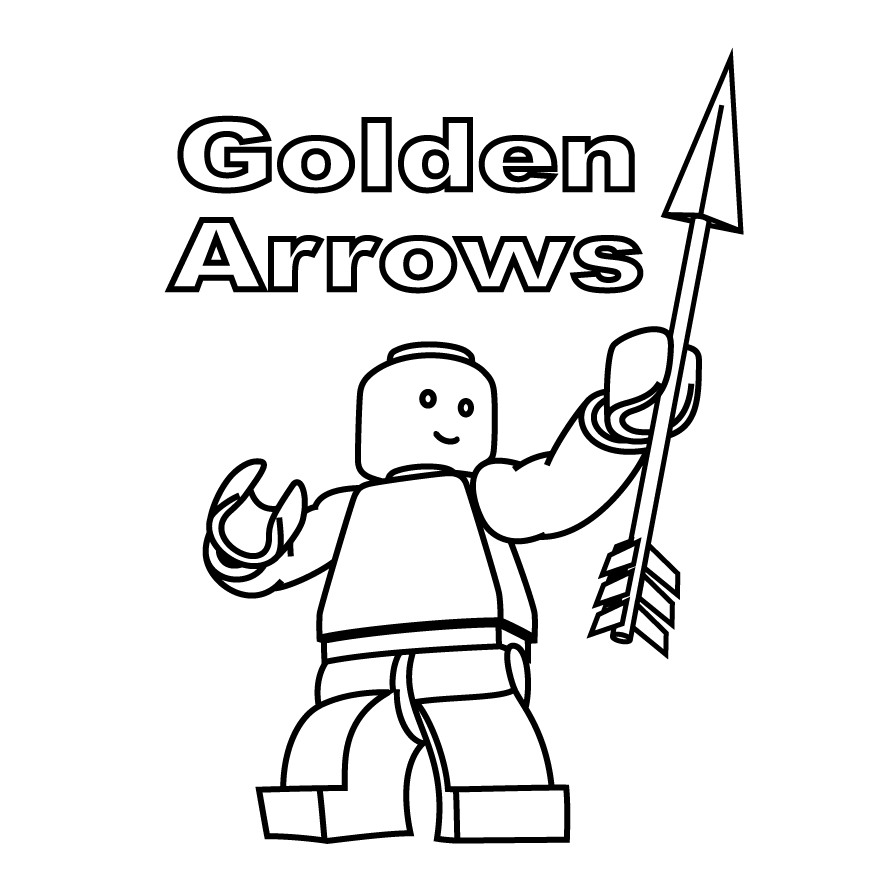 880x880 Lego Minifigures Coloring Pages