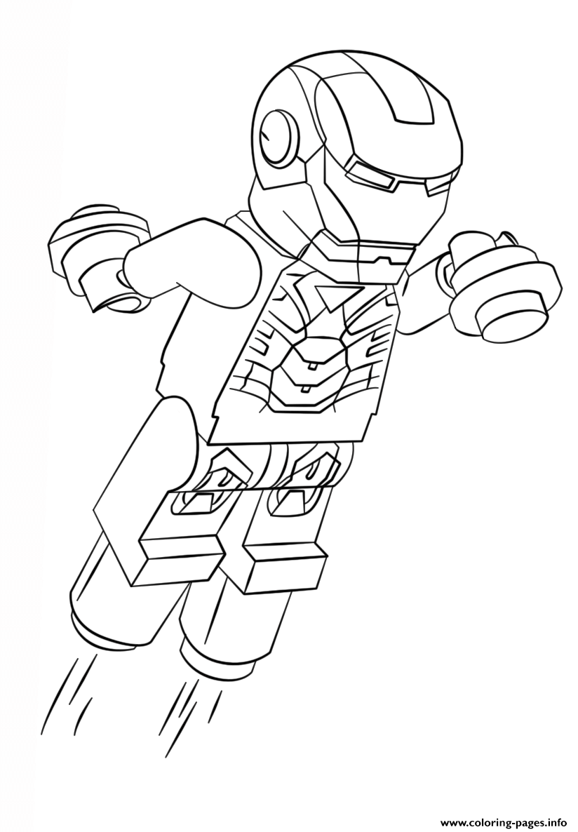 824x1186 Print Lego Iron Man Coloring Pages Print Outsworksheets Etc
