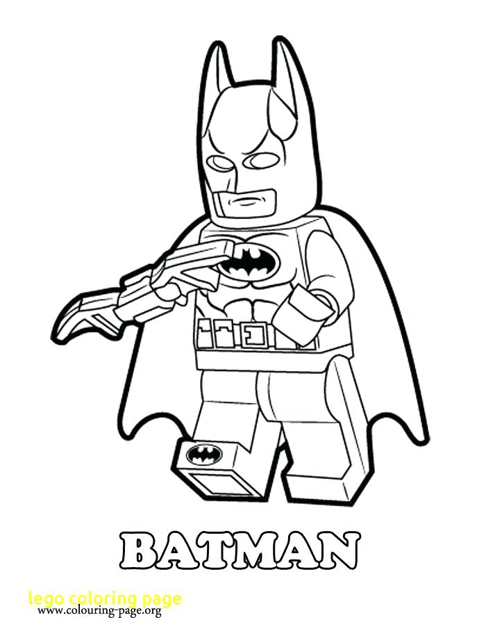 Lego Figure Coloring Page At Getdrawings Com Free For Personal Use