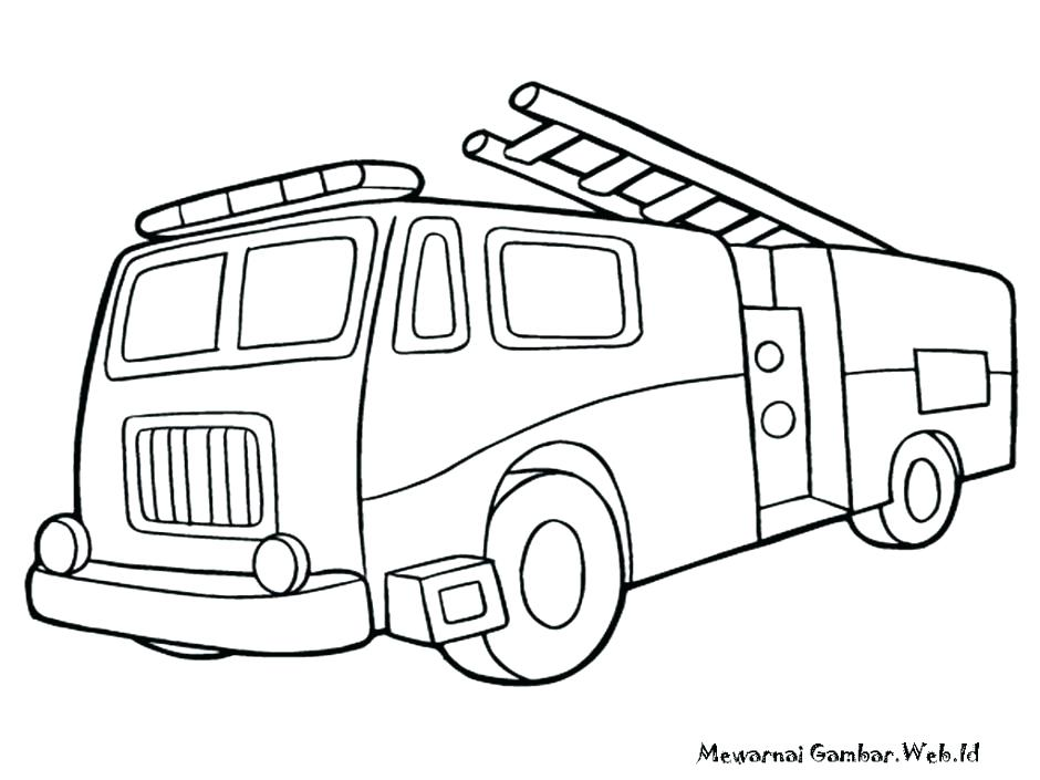940x705 Fire Truck Coloring Pages Printable Fire Truck Coloring Pages Kids