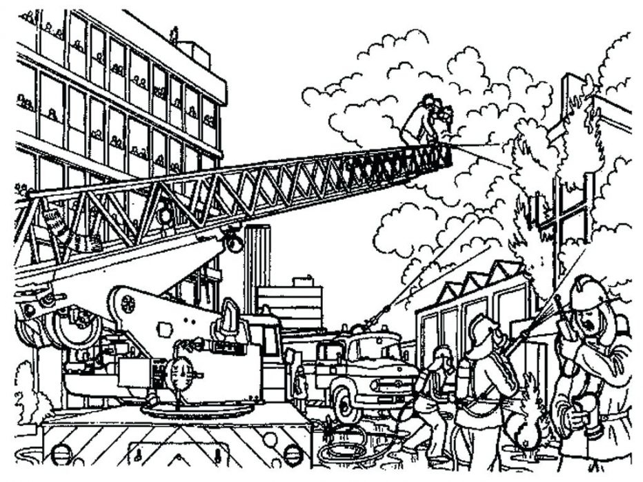 932x699 Free Lego City Coloring Pages Bltidm Lego Fire Truck Coloring