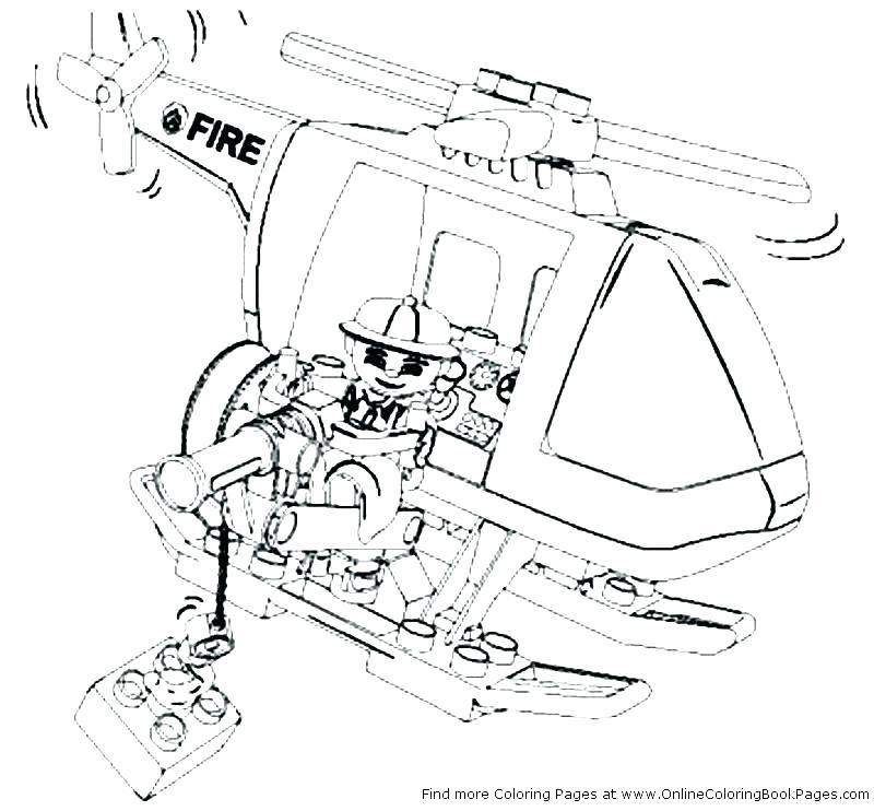 800x742 Fire Station Coloring Page City Coloring Pages Online